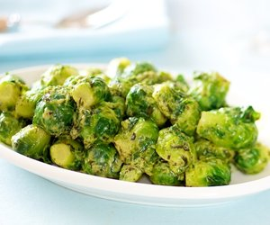 Brussel Sprouts in Tarragon Mustard Butter