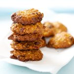 Cranberry, Chocolate Chip and Walnut Cookies