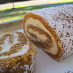 Pumpkin Roll with Cream Cheese Fillingl
