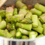 Add asparagus.