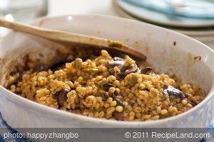 Delicious Barley Mushroom Casserole