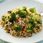 Stir-Fried Broccoli Rice