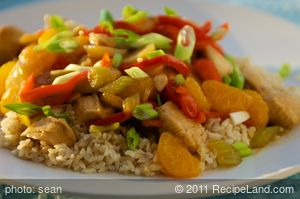 Mandarin Orange Chicken