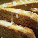 Almond Ginger Biscotti