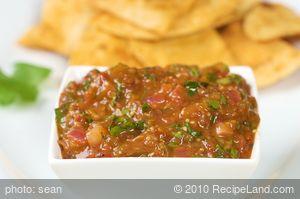 Chipotle Tomatillo Salsa