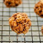 Mexican Chocolate and Spiced Christmas Popcorn Balls with Cinnamon Sugar