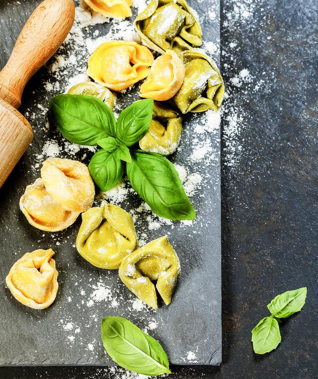 filled tortellini pasta