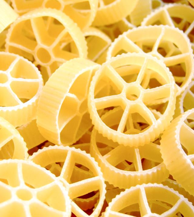 rotelle (wagon wheel) pasta