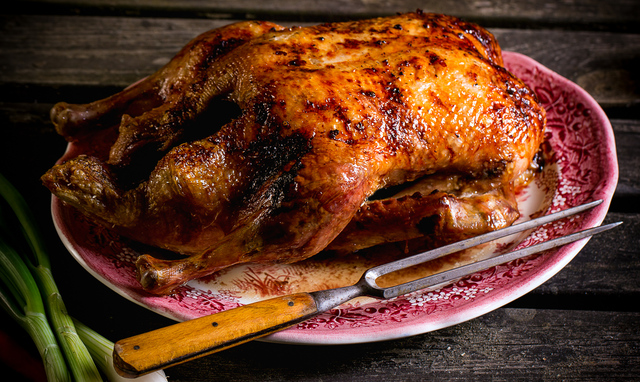 Perfect roasted duck