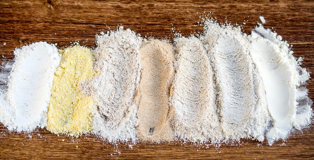 7 types of flour