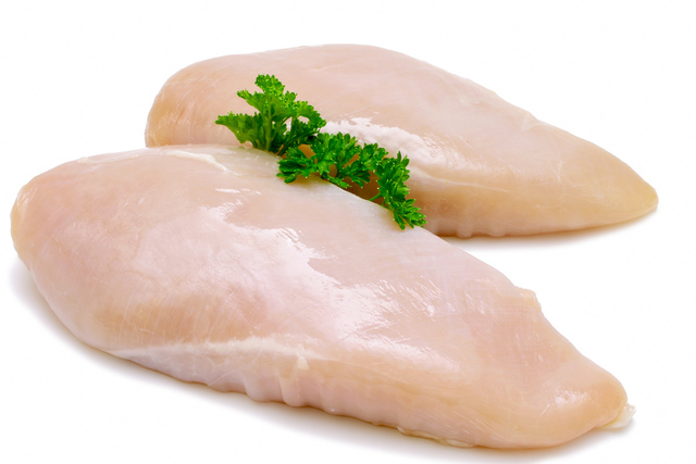 Boneless, skinless, chicken breast halves