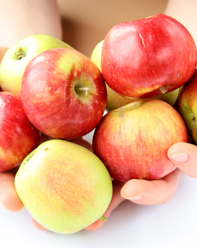 handful of apples