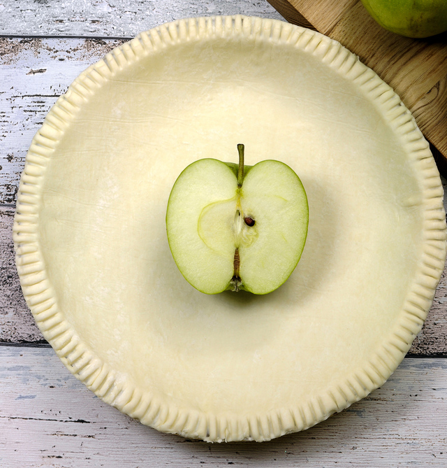 prepared pie shell