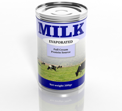 can of evaporated milk