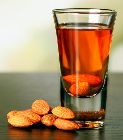 Amaretto almond liqueur