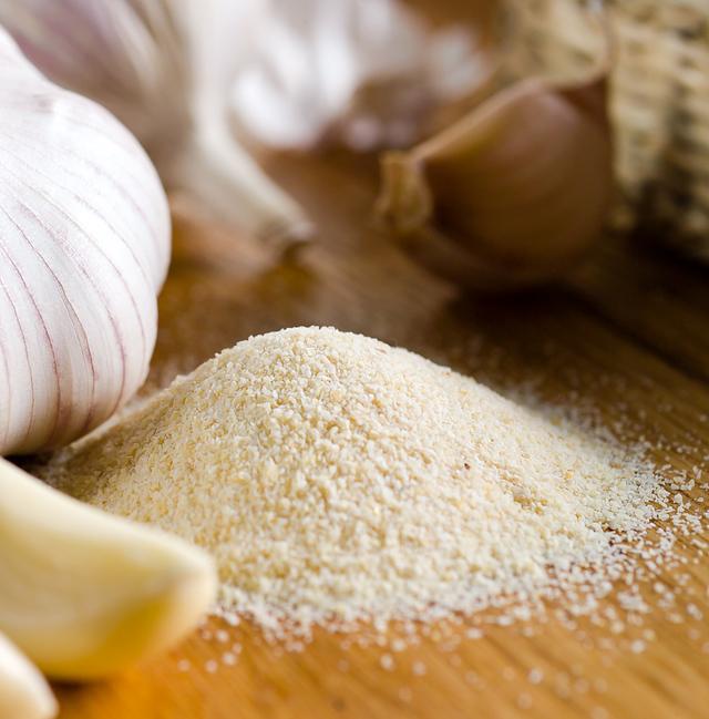 garlic salt close-up