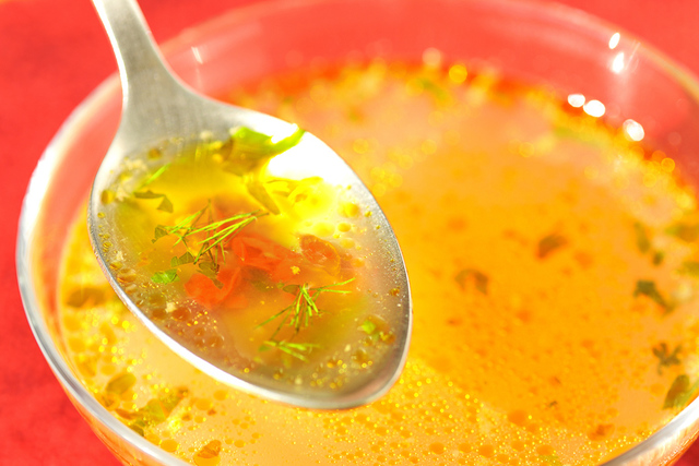 stock or broth
