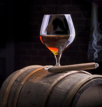 snifter of cognac