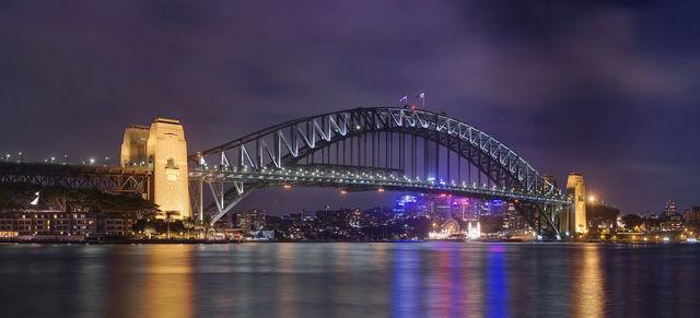 Sydney Harbour Bridge from Circular Quay - by JJ Harrison