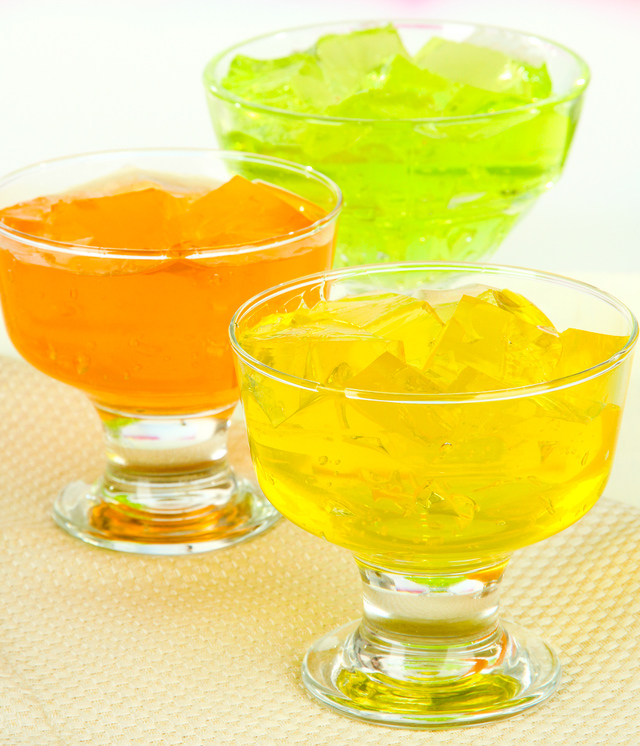 3 kinds of jello gelatine