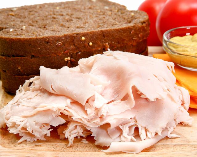 turkey breast, deli sliced