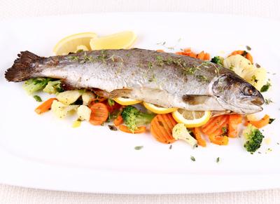 whole trout