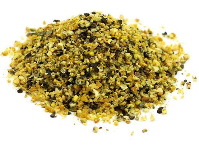 lemon pepper seasoning close-up
