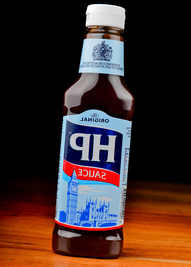 bottle of steak sauce