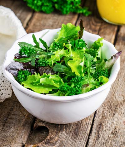 salad greens, mixed