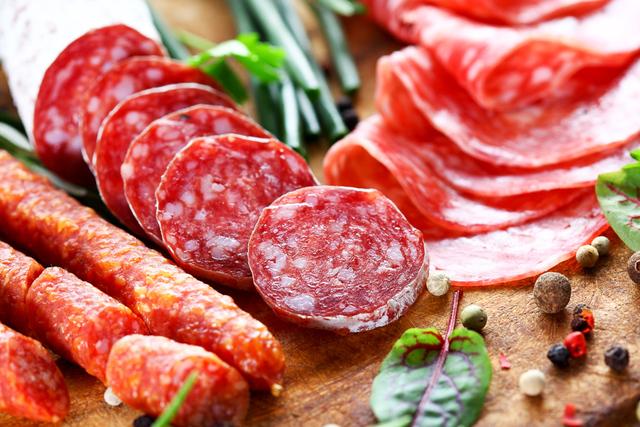 deli salami -variety