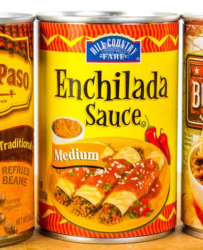 canned enchilada sauce