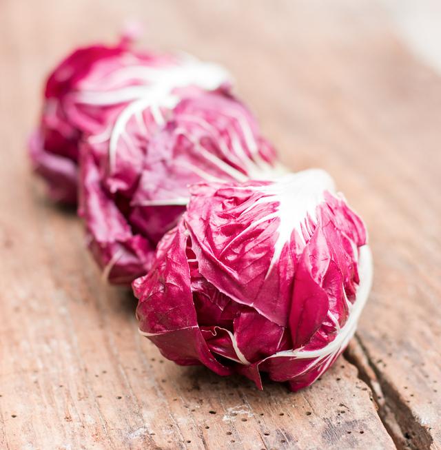 radicchio lettuce heads