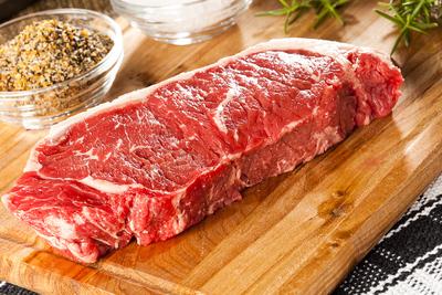 beef strip steak