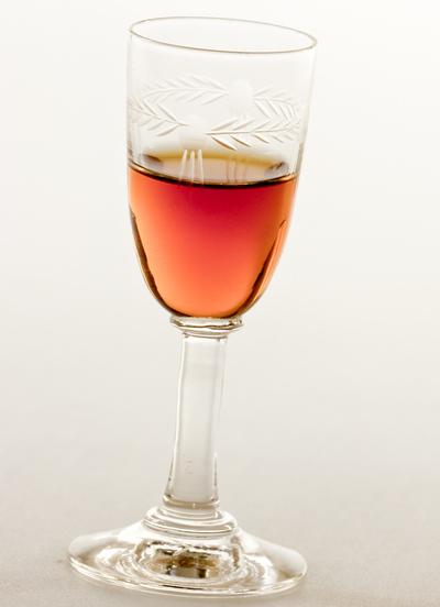 glass of marsala wine