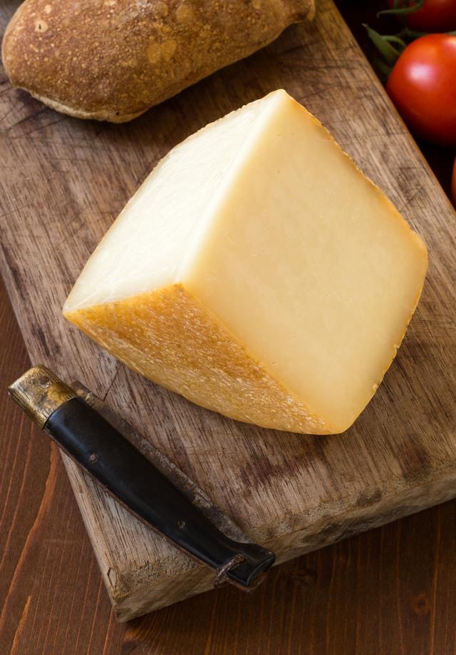 Sardinian pecorino sheep milk cheese